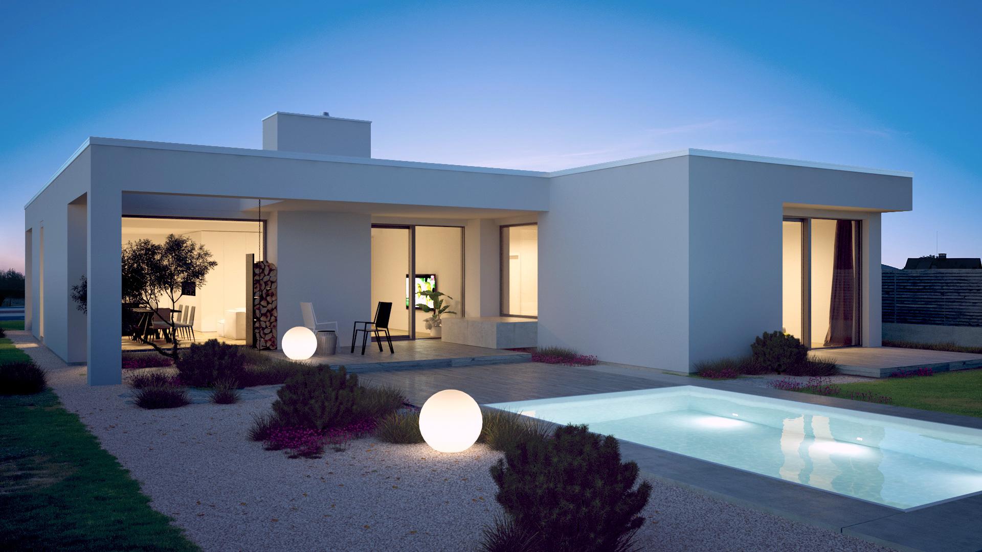 5ran - 3d vizualizace, architektura, rodinné domy, design
